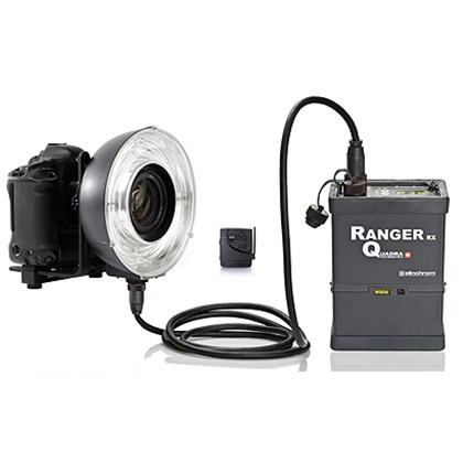 Elinchrom SET RANGER QUADRA RINGFLASH ECO RQ  WITH SKYPORT