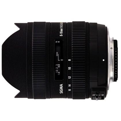 עדשת סיגמה למצלמות ניקון SIGMA 8-16mm F4.5-5.6 DC HSM