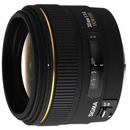 עדשת סיגמה למצלמות ניקון SIGMA 30mm F1.4 EX DC HSM