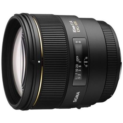 עדשת סיגמה למצלמות ניקון SIGMA 85mm F1.4 EX DG HSM