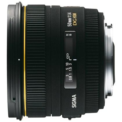 עדשת סיגמה למצלמות קנון SIGMA 50mm F1.4 EX DG HSM