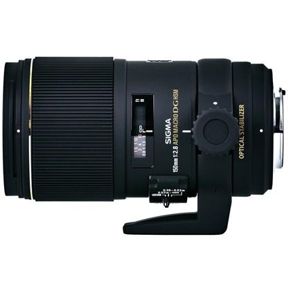 עדשת סיגמה למצלמות ניקון SIGMA 150mm F2.8 EX DG OS HSM APO Macro
