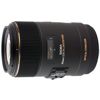 עדשת סיגמה למצלמות ניקון SIGMA 105mm F2.8 EX DG OS HSM Macro מאקרו