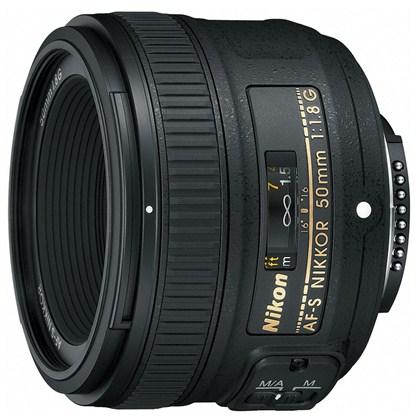 עדשת ניקון Nikon 50mm f/1.8 G AF-S