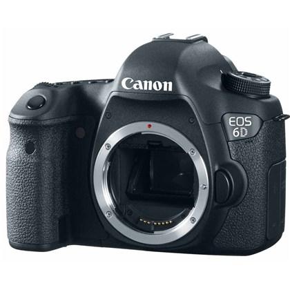 מצלמה מקצועית Canon 6D גוף בלבד