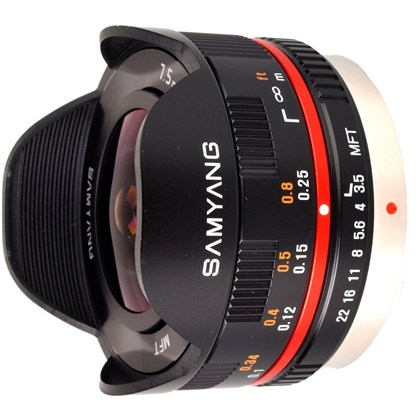 SAMYANG 7.5mm UMC Fisheye MFT