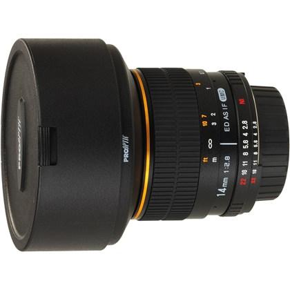 עדשת סאמיאנג Samyang for Micro 4/3 14mm f/2.8 IF ED MC Aspherical