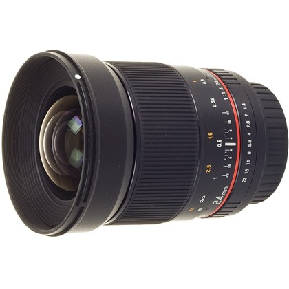 SAMYANG 24mm f/1.4 ED AS UMC for CANON
