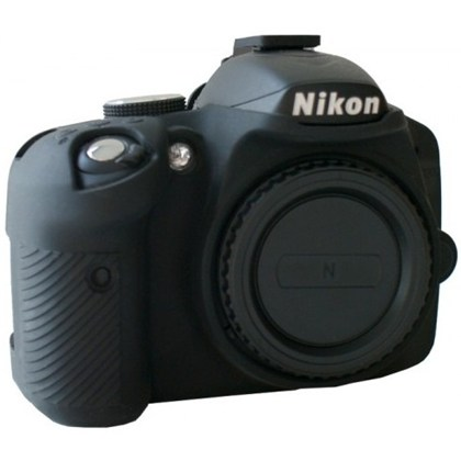 Silicone Camera Case  for Nikon D3200 black