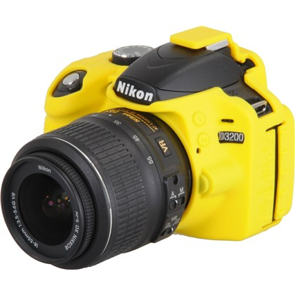 Silicone Camera Case  for Nikon D3200 Yellow