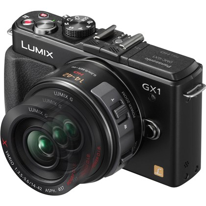 Panasonic Lumix DMC-GX1 + 14-42mm