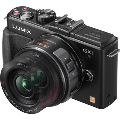 מצלמה חסרת מראה פנסוניק Panasonic Lumix DMC-GX1 + 14-42mm - קיט