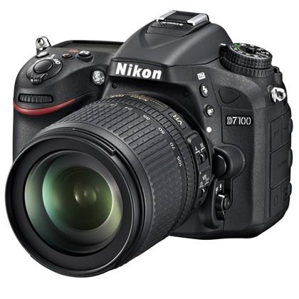 מצלמה DSLR ניקון Nikon D7100 kit 18-105mm VR - קיט