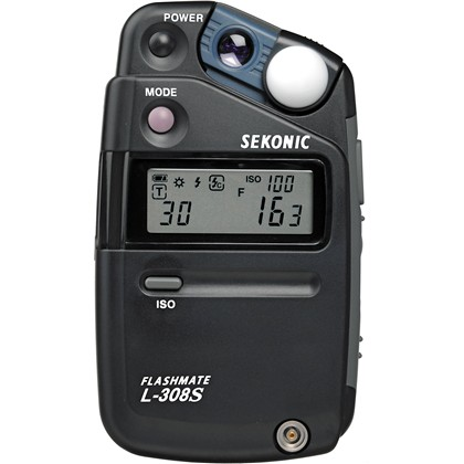 Sekonic L-308S Flashmate - Digital Incident, Reflected and Flash Light Meter