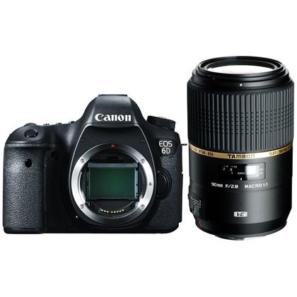 Canon EOS 6D + TAMRON 90MM F2.8 DI MACRO 1:1 VC