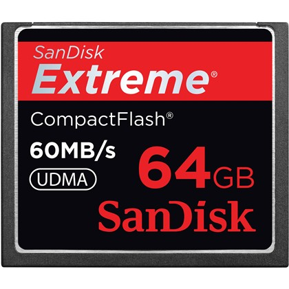 Sandisk Extreme CF 60MB/s 64 GB