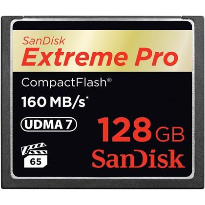 Extreme Pro CF 160MB/s 128 GB VPG 65, UDMA 7