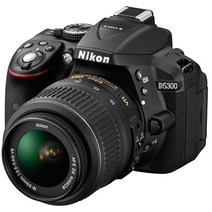 Nikon D5300 + 18-55mm VR AF-P
