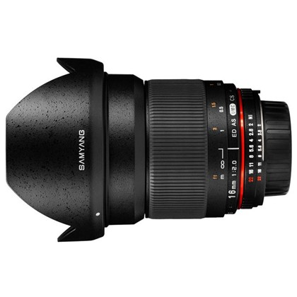 Samyang 16mm f/2.0 ED AS UMC CS For Mirrorless