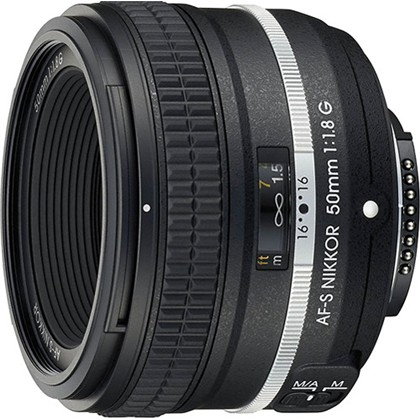 Nikon 50mm f/1.8G Special Edition Lens