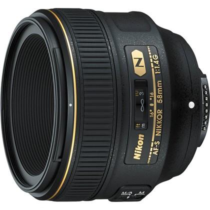 Nikon 58mm f/1.4G Lens