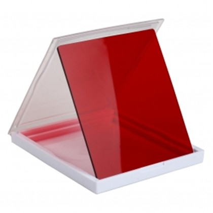 SQ 76x76 mm Square filter RED