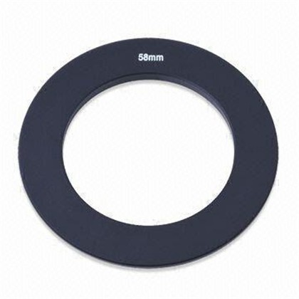 SQ 76x76 mm Square filter ADAPTER RING 58