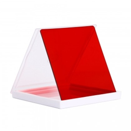 SQ 76x76 mm Square filter SOFT CROSS RED
