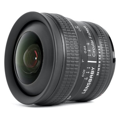 Lensbaby Circular Fisheye 5.8mm f/3.5 Lens For Canon