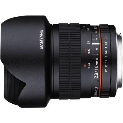 Samyang 10mm f/2.8 ED AS NCS CS Lens For Canon EF-s