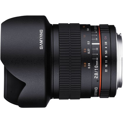 Samyang 10mm f/2.8 ED AS NCS CS Lens For Nikon