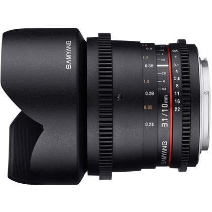 Samyang 10mm T3.1 ED AS NCS CS Cine
