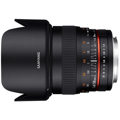 SAMYANG 50mm F1.4 AS UMC For CANON