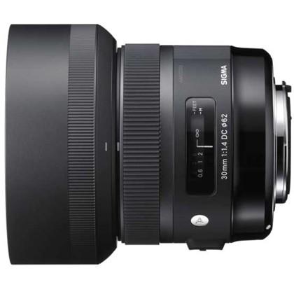 עדשת סיגמה למצלמות ניקון SIGMA 30mm F1.4 EX DC ART HSM