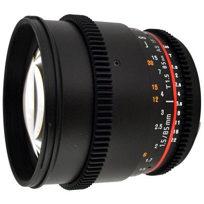 Samyang 85mm f/1.4 Aspherical IF T/1.5T CINE