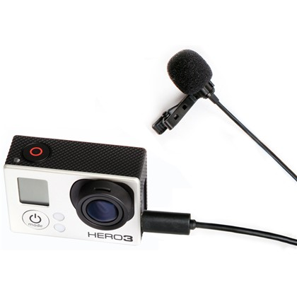 BOYA BY-LM20 LAVALIER Microphone For GOPRO