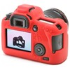 Silicone Camera Case  for Canon 6D Red