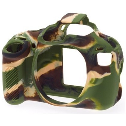 Silicone Camera Case  for Canon 1200D/T5 Camouflage