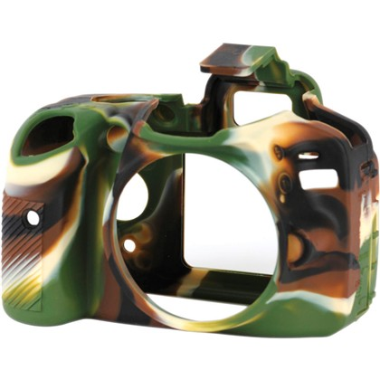 Silicone Camera Case  for Nikon D3200 Camouflage
