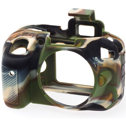 Silicone Camera Case  for Nikon D3300 Camouflage