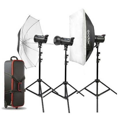 GODOX DS200 Triple kit 200W/s