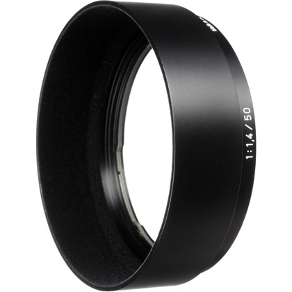 Lens shade for Planar T* 1,4/50 ZF.2/ZS