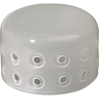 Glass Dome Frosted w/ fixing set