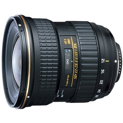 Tokina 12-28mm f/4.0 AT-X Pro DX Lens for Canon