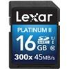 Lexar 16GB SDHC 300X Platinum II (Class 10) U1