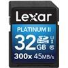 Lexar 32GB SDHC 300X Platinum II (Class 10) U1