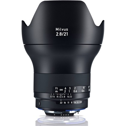 Zeiss Milvus 21mm f/2.8 ZE Lens for Nikon