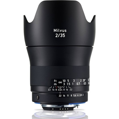 Zeiss Milvus 35mm f/2 ZE Lens for Canon
