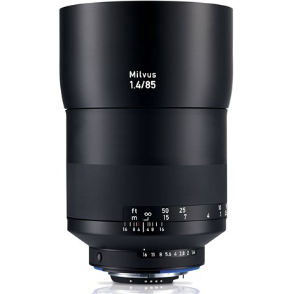 Zeiss Milvus 85mm f/1.4 ZF.2 Lens for Nikon