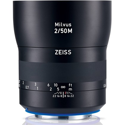 Zeiss Milvus 50mm f/2M ZE Lens for Canon